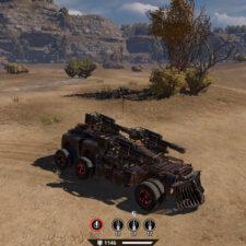 «Классика» - 3 пушки, кабина «Квант», колеса от фуры.