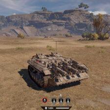 Типичный танк на гусеницах с 3 «Палачами».